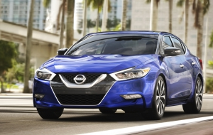 Nissan Maxima 2016 HD Wallpaper