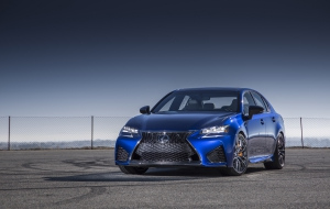 Lexus GS F 2016 HD Wallpaper