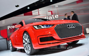 Audi TT Sportback 2016 Background