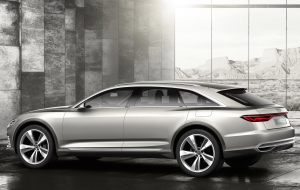 Audi Prologue Avant Background