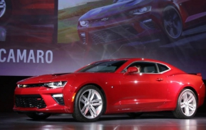 Chevrolet Camaro 2016 HD Wallpaper