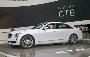 Cadillac CT6 2016 Background