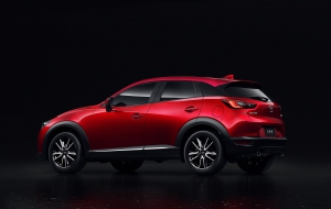 Mazda CX-3 2016 Background