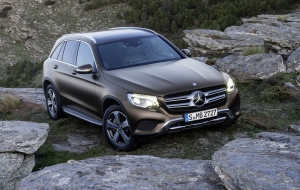 Mercedes-Benz GLC 2016 Background
