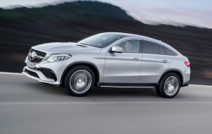 Mercedes-Benz GLE Coupe 2016 Background