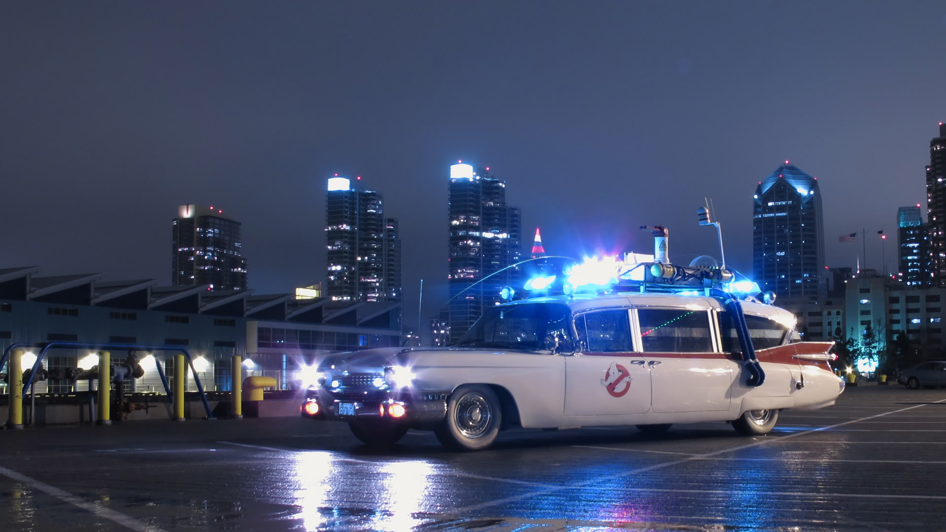 ecto 1 ghostbusters wallpaper - photo #12