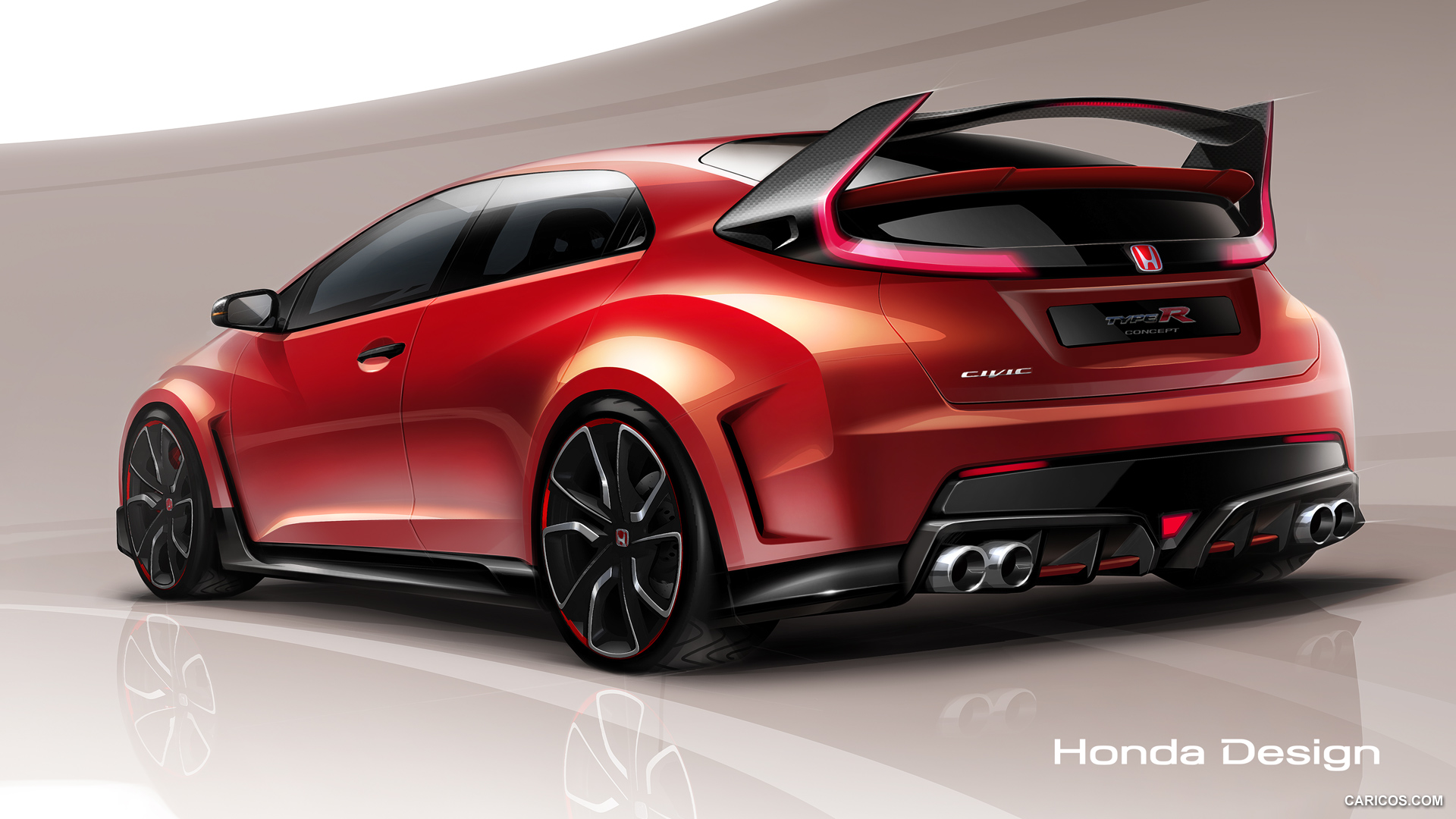 Honda Civic Type R 2018 Hd Wallpapers Free Download