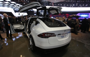 Tesla Model X HD Desktop