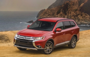 Mitsubishi Outlander 2016 HD Desktop