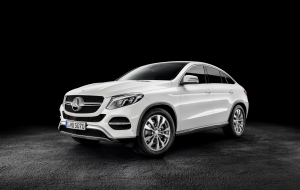Mercedes-Benz GLE Coupe 2016 HD Desktop