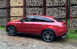 Mercedes-Benz GLE Coupe 2016 HD Background