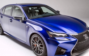 Lexus GS F 2016 HD Background