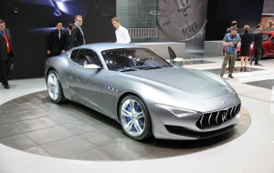 Maserati Alfieri 2017 Wallpapers