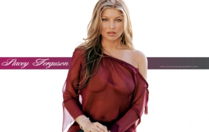 Fergie HD Background