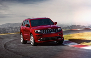 Jeep Grand Cherokee Trackhawk 2017 Wallpapers