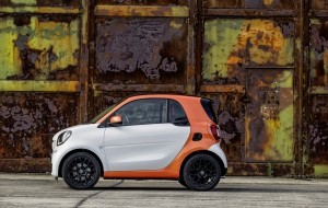 Smart Fortwo 2016 Wallpapers