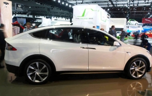 Tesla Model X for desktop