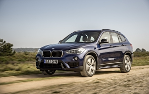 BMW X1 2016 Background