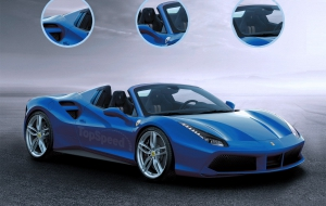Ferrari 488 Spider 2016 Wallpapers