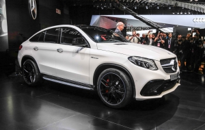 Mercedes-Benz GLE Coupe 2016 Wallpapers