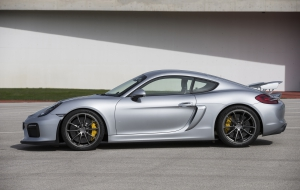 Porsche Cayman GT 2016 Wallpapers