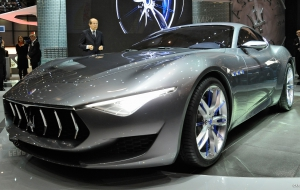 Maserati Alfieri 2017 Wallpapers HD