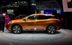 Nissan Murano 2015 Wallpapers HD
