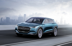Audi Q6 e-tron quattro 2018 Wallpapers HD