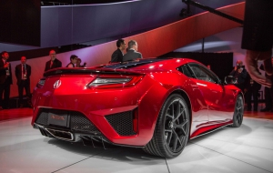 Acura NSX 2016 Wallpapers HD