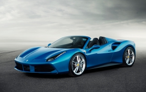 Ferrari 488 Spider 2016 Wallpapers HD