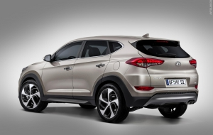 Hyundai Tucson 2016 Wallpapers HD