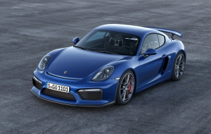Porsche Cayman GT 2016 Wallpapers HD