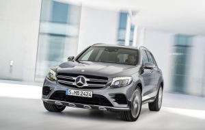 Mercedes-Benz GLC 2016 Wallpaper