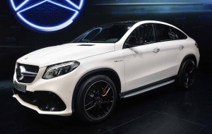 Mercedes-Benz GLE Coupe 2016 Wallpaper