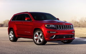 Jeep Grand Cherokee Trackhawk 2017 Pictures