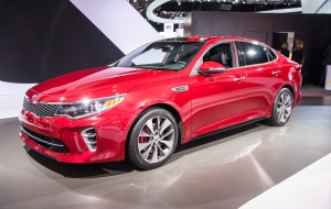 Kia Optima 2016 Photos