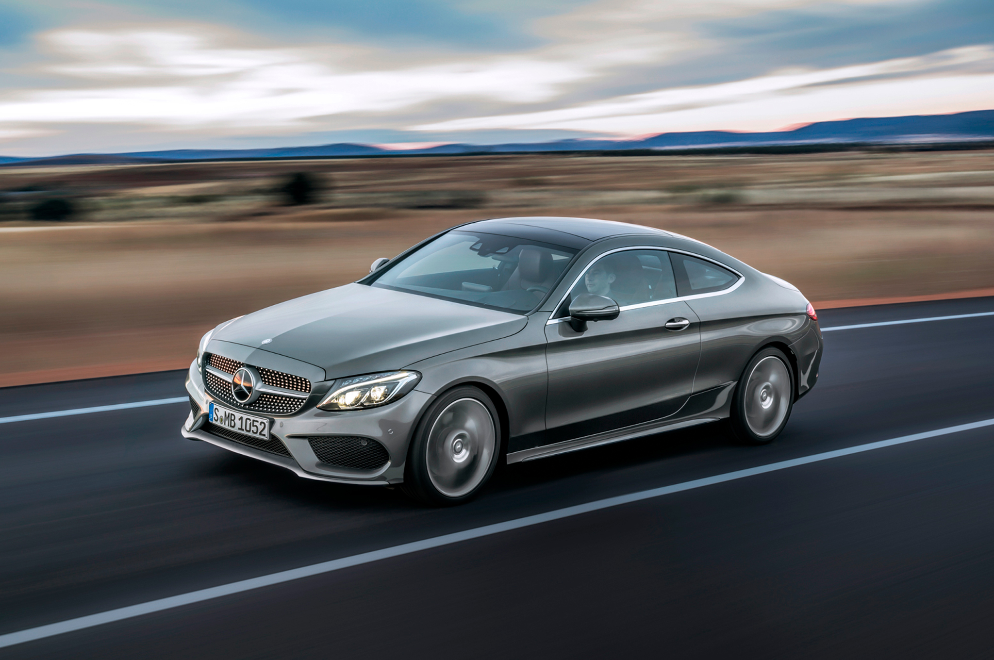 Mercedes Benz C Class Coupe 2017 Hd Wallpapers Free Download