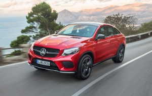 Mercedes-Benz GLE Coupe 2016 Widescreen