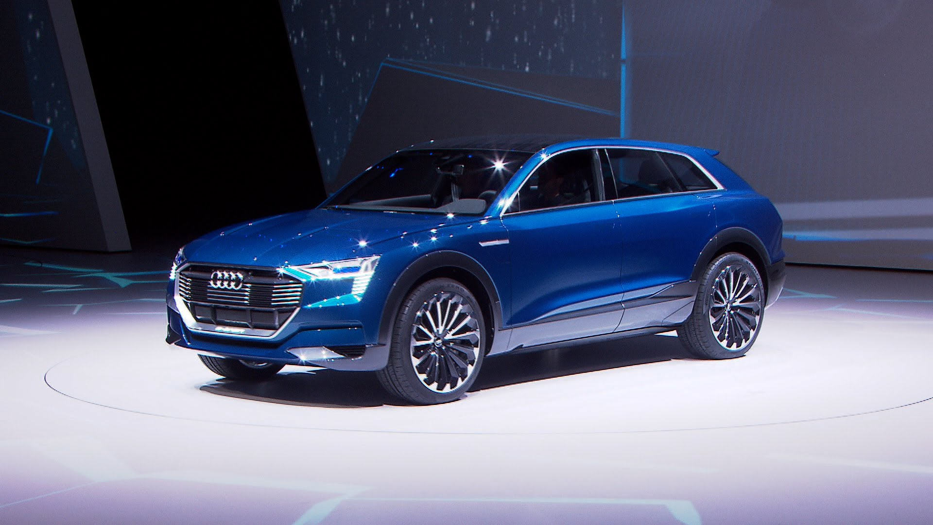 audi q6 e tron quattro 2018 hd wallpapers free download. Black Bedroom Furniture Sets. Home Design Ideas