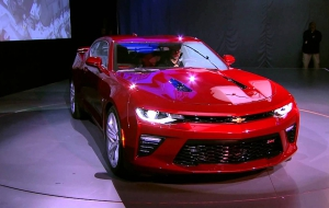 Chevrolet Camaro 2016 Widescreen