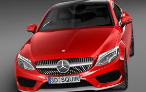 Mercedes-Benz C-class Coupe 2017 Images