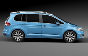 Volkswagen Touran 2016 High Definition Wallpapers