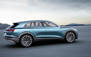 Audi Q6 e-tron quattro 2018 High Definition Wallpapers