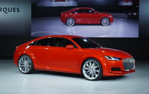 Audi TT Sportback 2016 High Definition Wallpapers
