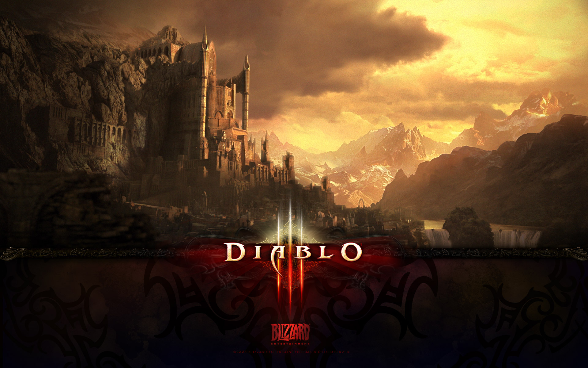 Diablo 3 hd wallpapers free download for Wallpaper three