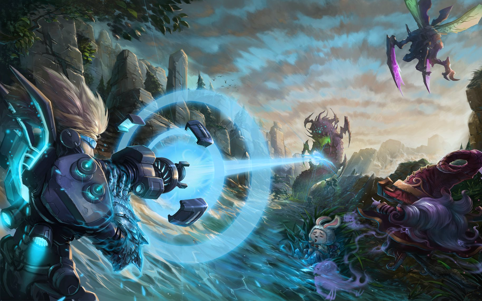 League of legends wallpaper hd