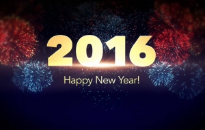 New Year 2016 Widescreen