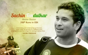 Sachin Tendulkar HD Wallpaper