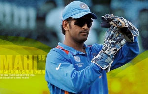 Dhoni HD Background