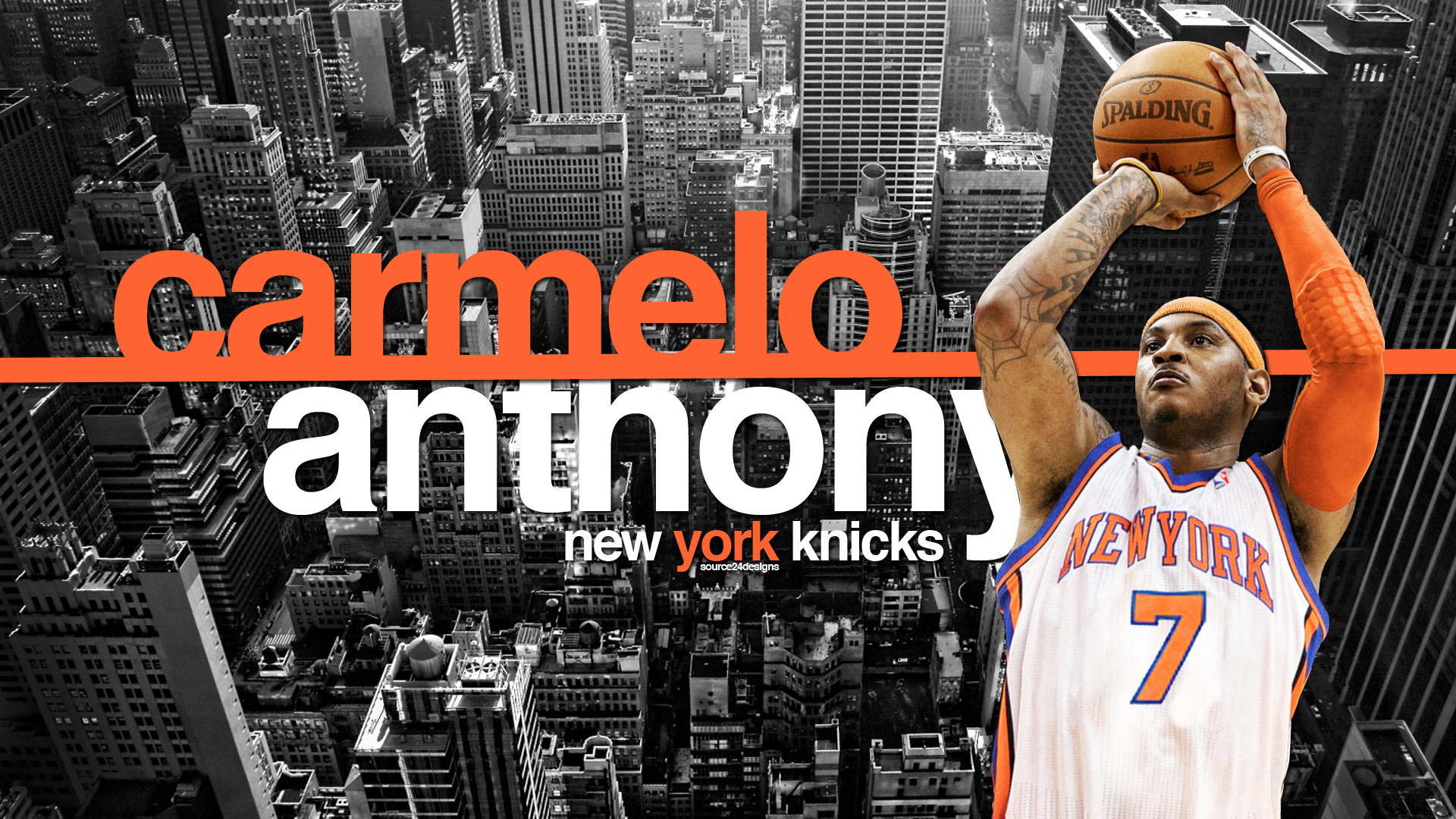 Carmelo anthony wallpapers high resolution and quality download carmelo anthony full hd voltagebd Images